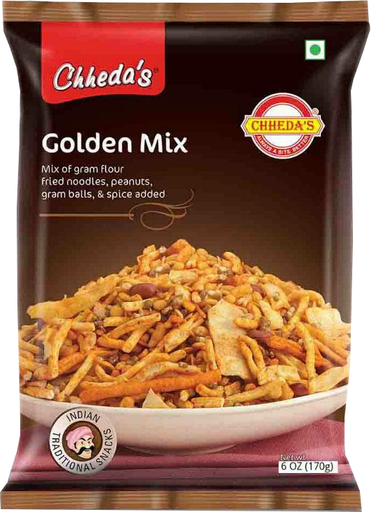 CHHEDA`S GOLDEN MIX 170GM - Mabrook