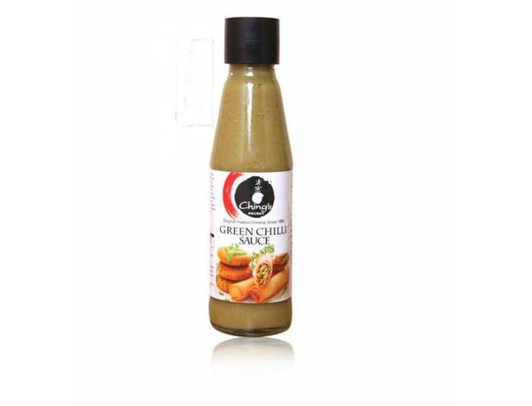 CHINGS GREEN CHILLI SAUCE 190G - Mabrook