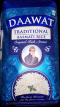Daawat Traditional White Indian Basmati Rice - 1 KG