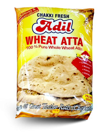 ADIL WHEAT CHAKKI FRESH ATTA 5KG