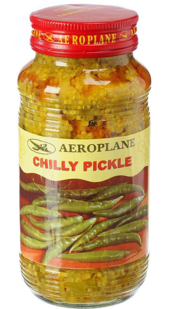 AEROPLANE CHILLY PICKLE 380GM - Mabrook