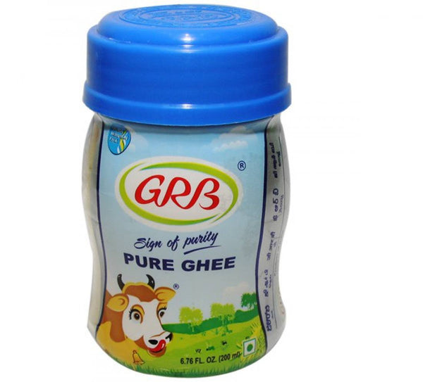 Grb Pure Cow Ghee 200 ML - Mabrook