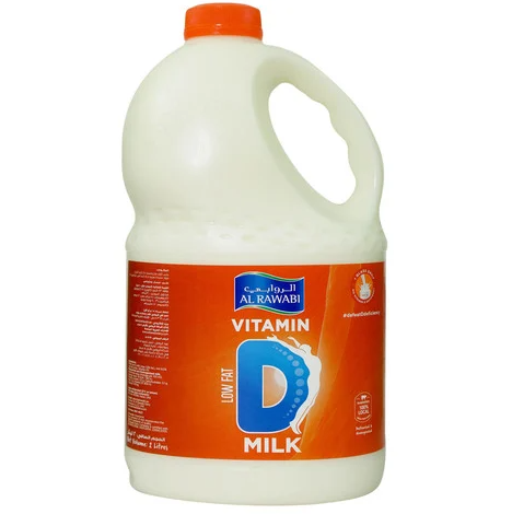 AL RAWABI Vitamin D Milk LOW FAT 2Ltr - Mabrook