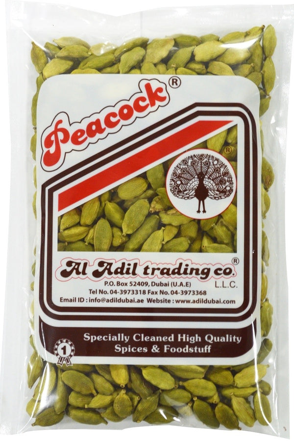 GREEN CARDAMOM OT4 FLG(BIG SIZE)500GM - Mabrook