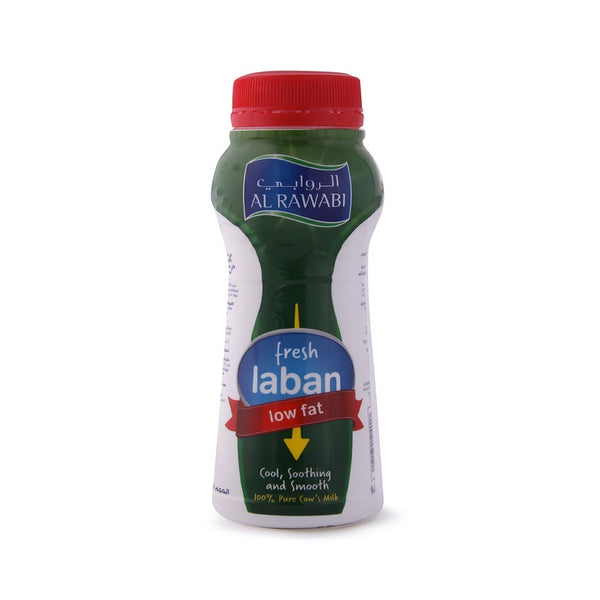 AL RAWABI LOW FAT  LABAN 200 ML - Mabrook