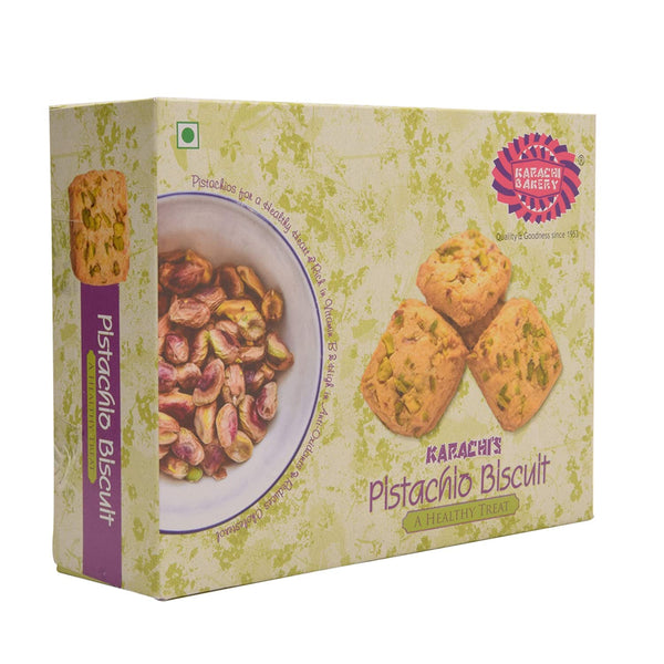 Karachi Bakery Pistachio Biscuits - Mabrook