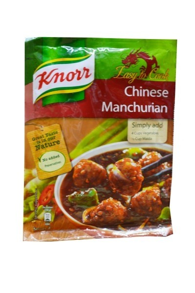 KNOR CHINESE MANCHURIAN 55G. - Mabrook