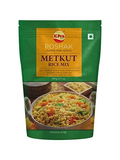 K-Pra Poshak Metkut Rice Mix - vegetarian, MSG free, preservatives free - Mabrook