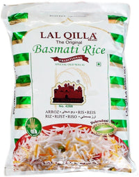 LAL QILLA SP OLD MALAI BASMATI RICE 5KG - Mabrook
