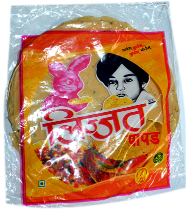 LIJJAT MOONG PAPAD 200G - Mabrook