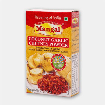 Mangal Coconut Garlic Chutney Powder - vegetarian