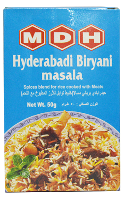 MDH HYDERABADI BIRYANI MASALA 50GM - Mabrook