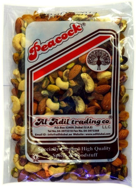 MIX NUTS 400GM - Mabrook