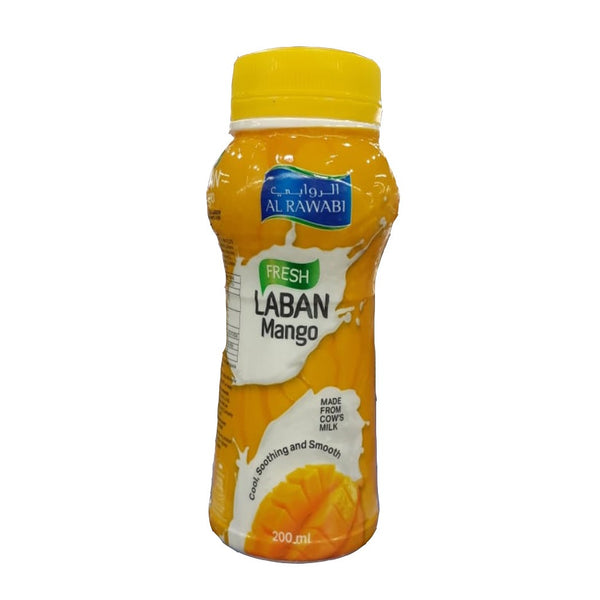 AL RAWABI Laban Mango 200 ml - Mabrook