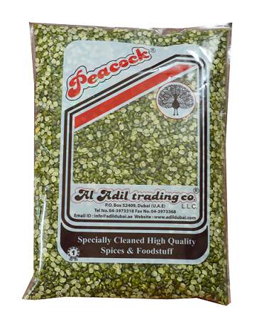 MOONG SPLIT 1KG - Mabrook