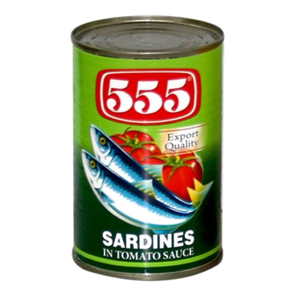 SPECIAL OFFER :  555 Sardines in Tomato Sauce Regular 155 gm