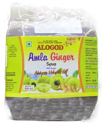ALOGOD AMLA GINGER SYRUP 500ML - Mabrook