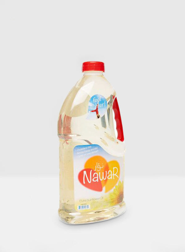 Nawar Pure Sunflower Oil - Mabrook