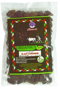 ORGANIC CARDAMOM BLACK 100GM - Mabrook