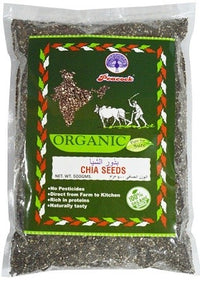 ORGANIC CHIA SEEDS 500GM - Mabrook
