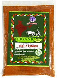 ORGANIC CHILLI PWD 250GM - Mabrook