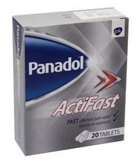 Panadaol Actifast Tablets - 20 - Mabrook