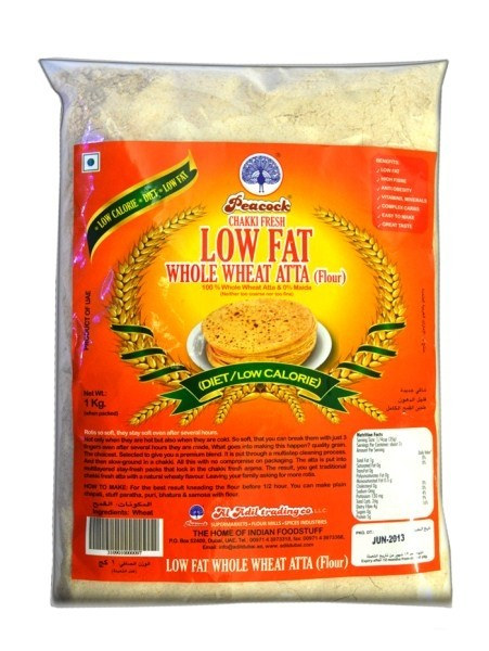 PCK LOW FAT WHEAT ATTA 1KG - Mabrook