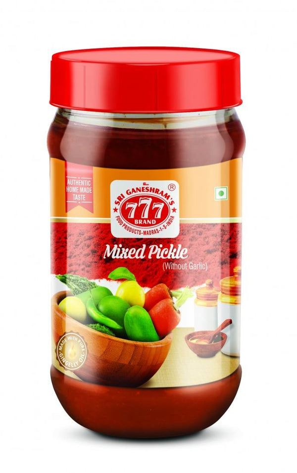 777 MIXED PICKLE 300G - Mabrook