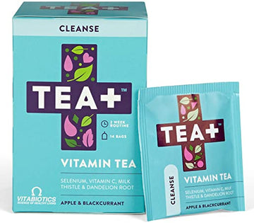 TEA +  VITAMIN TEA (APPLE & BLACKCURRENT) (CLEANSE)