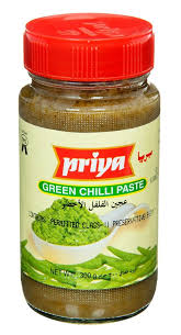 PRIYA GREEN CHILI PASTE 300G - Mabrook