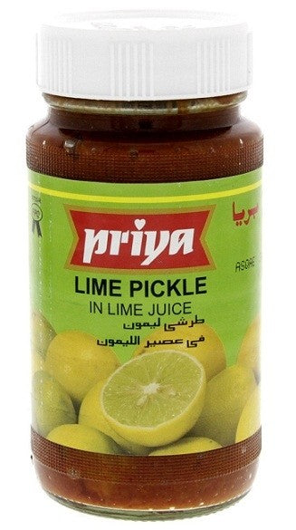 PRIYA LIME PICKLE IN LIME JUICE 300G
