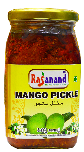 RASANAND MANGO PICKLE 400G