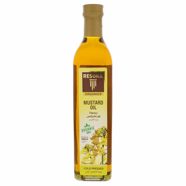 Resona Organic Cold Pressed Mustard Oil - Mabrook