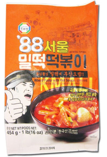 Frozen Rice Cake 88서울밀떡볶이(454g)