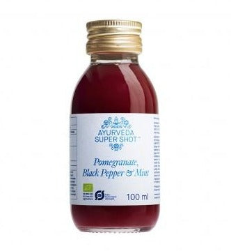 AYURVEDA SUPER SHOT (POMEGRANATE,BLACK PEPPER,MINT) 100 ML - Mabrook