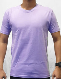 Unisex Pure Cotton Lavender Tshirt - Mabrook