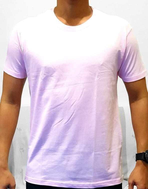 Unisex Pure Cotton Pink Tshirt - Mabrook