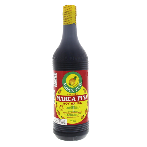 Marca Pina Soy Sauce 1  litre - Mabrook