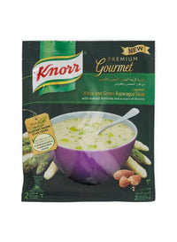 KNORR WHITE AND   GREEN ASPARAGUS SOUP 40GM - Mabrook