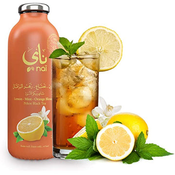 NAI BLACK TEA (LEMON-MINT-ORANGE BLOSSOM) 473 ML
