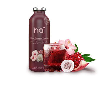 NAI FLOWER TEA (PEACH-MANGO-JASMINE) 473 ML