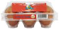 SAHA BROWN EGGS   6 PCS