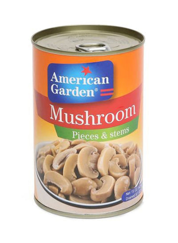 American Garden Mushroom pieces and stem 400 g