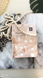 10 Sheets KramAnne Pearl Essence mask - Made in Korea - Mabrook