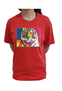 Colorful Tiger - Mabrook