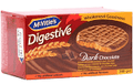 MCVITIES DIGIESTIVE DARK CHOCOLATE 200GM