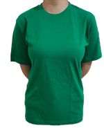 Unisex Pure Cotton Green Tshirt - Mabrook