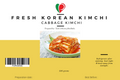 FRESH CABBAGE KIMCHI : KOREAN PICKLE - (PREPARED BY TASTE OF KOREA)