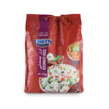 Kwality Basmati Rice 5 kg (Abudhabi and Dubai only)