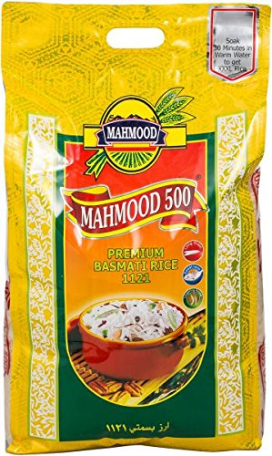 MAHMOUD PREMIUM BASMATI RICE (ABUDHABI AND DUBAI ONLY)